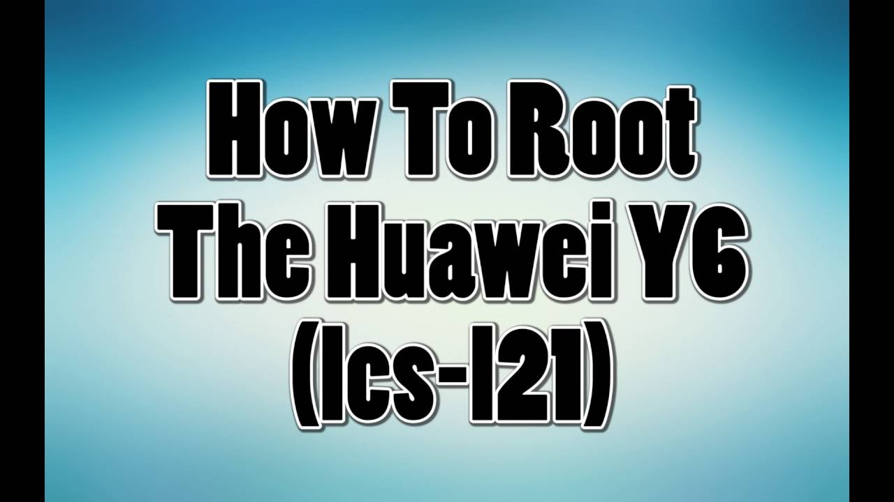HOW TO ROOT HUAWEI Y6 (lcs-l21) USING TWRP, CM 12 1, AND SUPERUSER