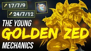 LL Stylish - THE YOUNG GOLDEN ZED MECHANICS