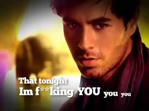 Enrique Iglesias Tonight (I'm F  kin' You) Lyric Video - [feat. Ludacris   DJ Frank E]