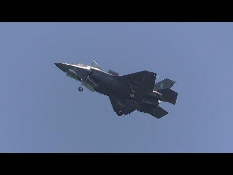 岩国基地 F-35B VK 170719