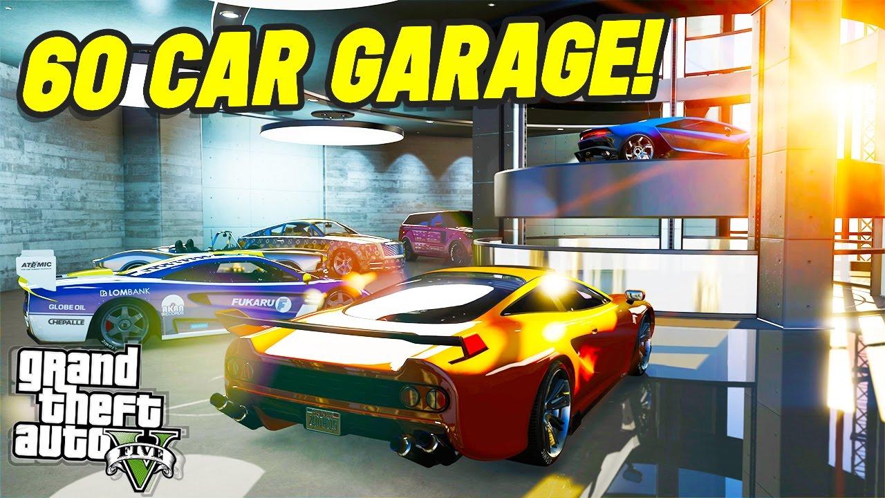 12 Car Garage the new luxury 60 car garage?! (gta 5 online) - youtube