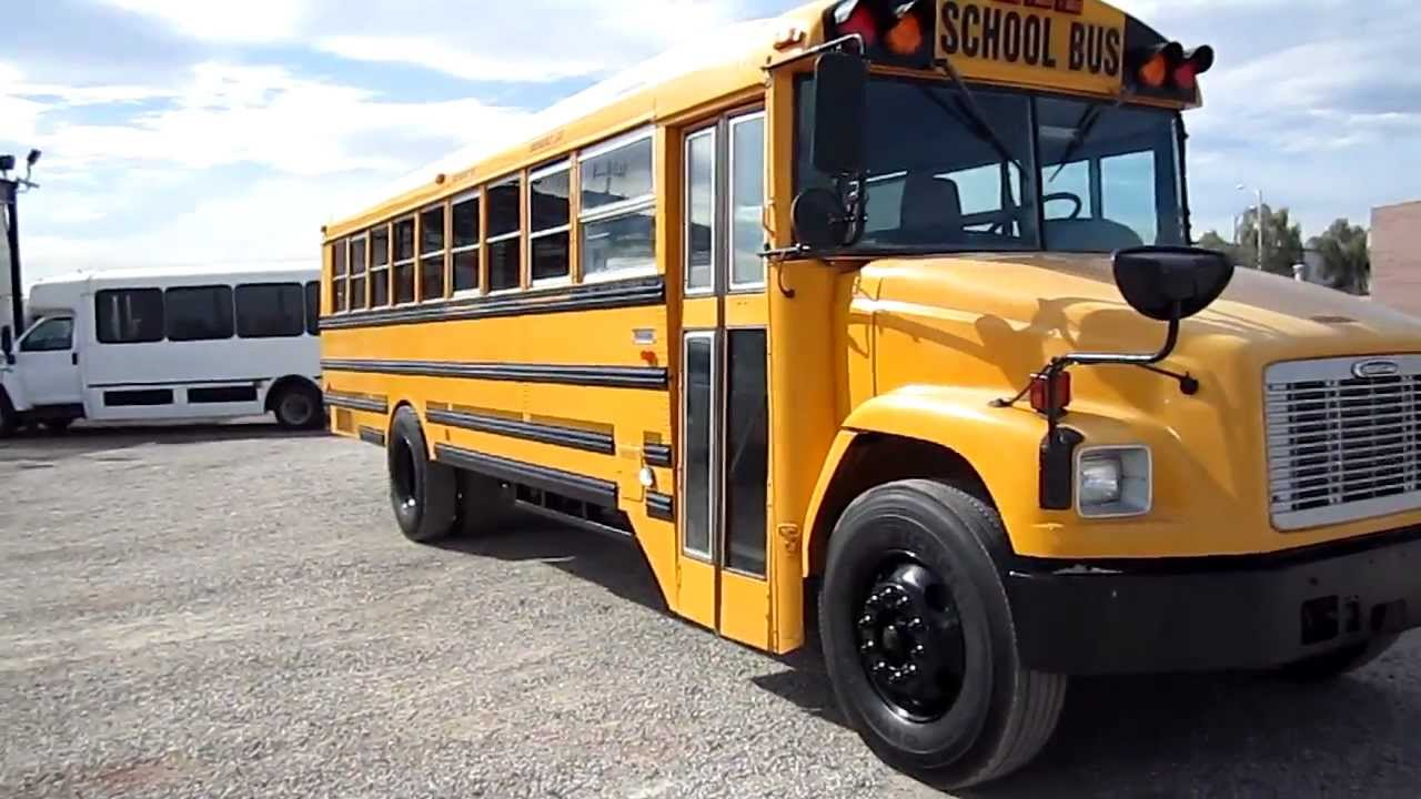 2003 used school bus for sale - 10 row thomas on freightliner chassis