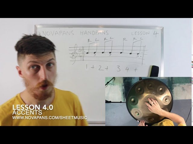 Learning the Handpan: Lesson 4 / Accents by NovaPans Handpans