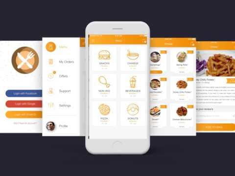 Buy Food Ordering App Template