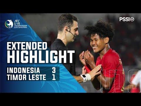 AFC U-19 Championship 2020 Qualifiers: Indonesia 3-1 Timor Leste