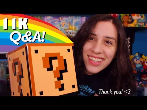 FEEDING OFF MEAN COMMENTS & MY SMASH BROS AMIIBO COLLECTION! 11K Q&A Celebration!