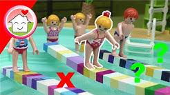 Playmobil Film Familie Hauser - Spielnachmittag im Aquapark - Video für Kinder