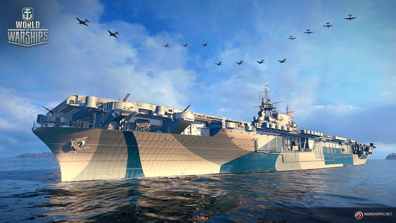 world of warships - uss enterprise cv-6 coming soon