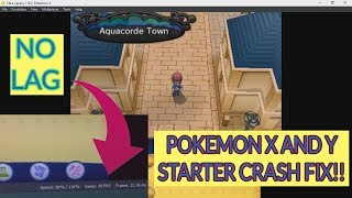 POKEMON X AND Y FIX! FULLY PLAYABLE AT 2018 CITRA EMULATOR