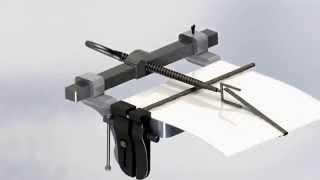 видео Прибор для испытания на изгиб (цилиндрические стержни) Elcometer 1506