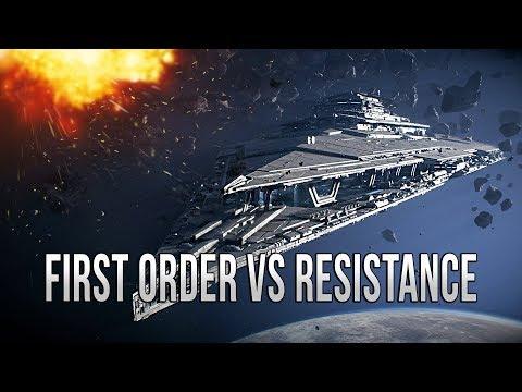 FIRST ORDER VS RESISTANCE! - Star Wars EMPIRE AT WAR [Yoden Mod]
