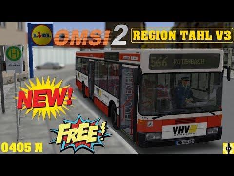 OMSI 2 [60 FPS] - REGION TAHL V3 Linie 566 Vorstellung - Let's Play Omsi 2 [#467]