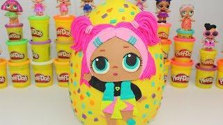 LOL Confetti Pop 3.Seri Sürpriz Yumurta Oyun Hamuru L.O.L. Sürpriz Bebek Lil sisters Bidünya Oyuncak