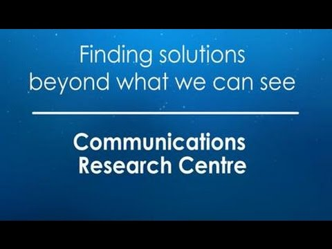 Innovative Wireless Research At Canada's Communications Research Centre