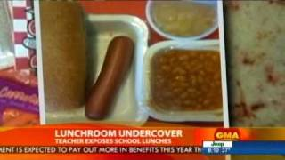 Mrs. Q Undercover - Anonymous Teacher Shines Light on Poor Quality School Lunches