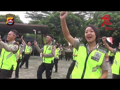Tarian Kolosal Maumere  Dari Tangerang Merajut Kebhinekaan