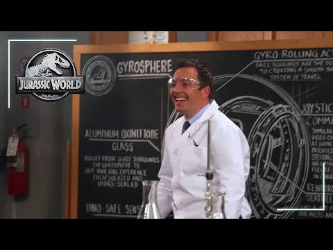 Jurassic World and Jimmy Fallon | Featurette | Jurassic World