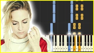 AGNES OBEL - RIVERSIDE - Piano Tutorial