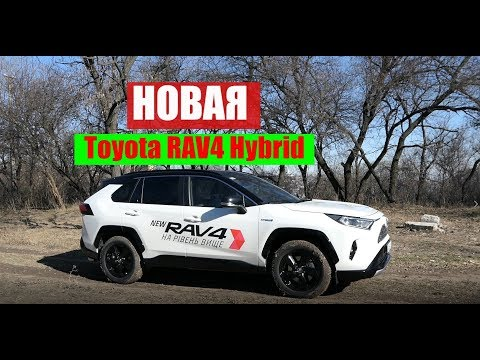 Toyota RAV4 (Гибрид) Тест драйв и обзор кроссовера