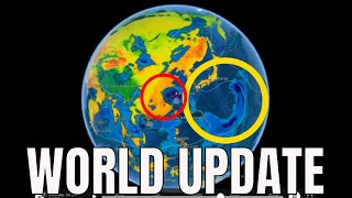 Yellowstone Earthquakes / DEEP EQ Event / Taiwan Typhoon IN-FA / SUN Plasma Filament Eruption