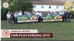 Fair-Play Ehrung im Rahmen der LOTTO Hessen Fair-Play-Tage 2019