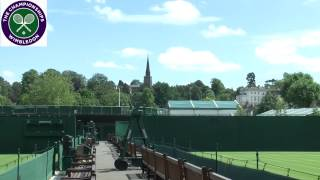Getting ready for Wimbledon 2013