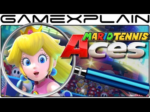 Mario Tennis Aces ANALYSIS - Nintendo Direct Breakdown (Secrets & Easter Eggs)