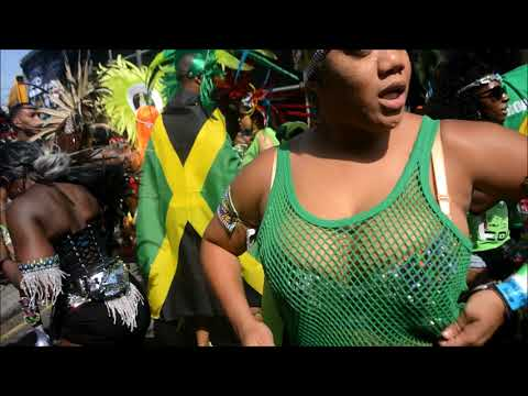 NOTTING HILL CARNIVAL MONDAY 2017