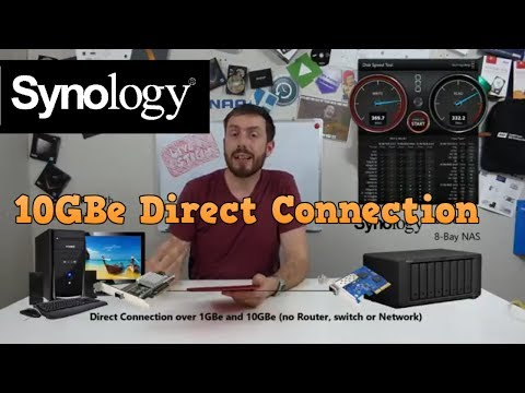 10GBe DAS connectivity with Synology DS1817+ NAS – Is it possible, the speeds and is it worth it