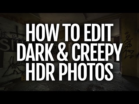 Editing dark interior HDR photos (Lightroom & Nik Software)