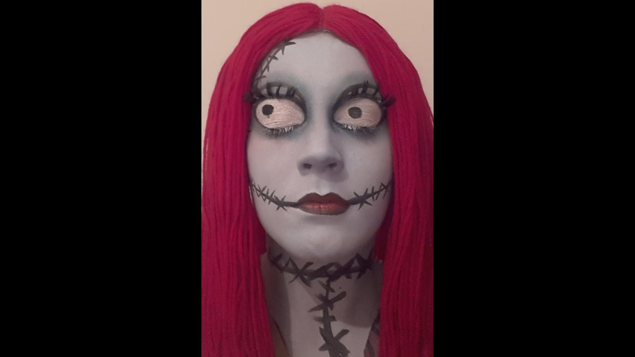 Sally The Nightmare Before Christmas Tutorial - YouTube