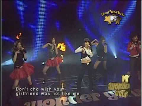 Wonder Girls - Don't Cha (PCD) [2007.02.13 MTV The First Showcase]