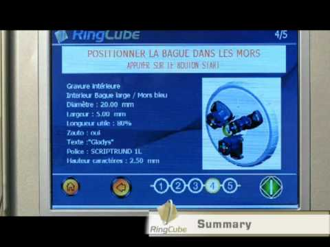 RingCube - уникальный станок для гравировки на кольцах