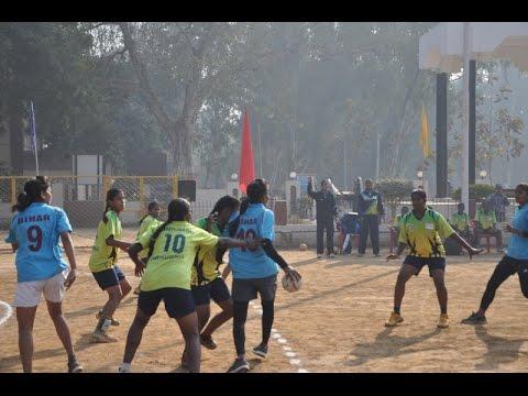 National Women Games Bihar 2016   Handball Final Bihar Vs Haryana