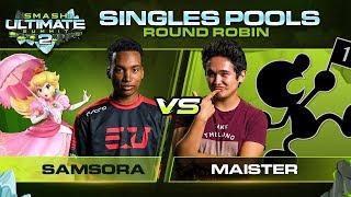 Samsora vs Maister - Singles Pools: Round Robin - Ultimate Summit 2 | Peach vs Game & Watch