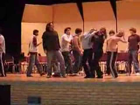 Beauty and the Beast Rehearsal