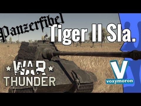War Thunder ·Premium TigerII (H) Sla. 16 im realistischen Gefecht · Panzerfibel