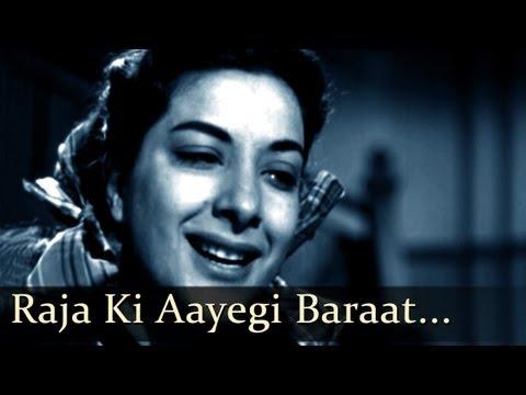 Aah - Raja Ki Aayegi Baraat - Raj Kapoor - Nargis - Pran - Bollywood Classic Songs - Lata Mangeshkar