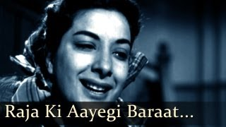 Video Aah - Raja Ki Aayegi Baraat - Raj Kapoor - Nargis - Pran - Bollywood Classic Songs - Lata Mangeshkar download MP3, 3GP, MP4, WEBM, AVI, FLV Juni 2018