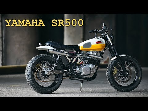 0 - Daniel Peter bringt eine Yamaha SR500 auf den neuesten Stand