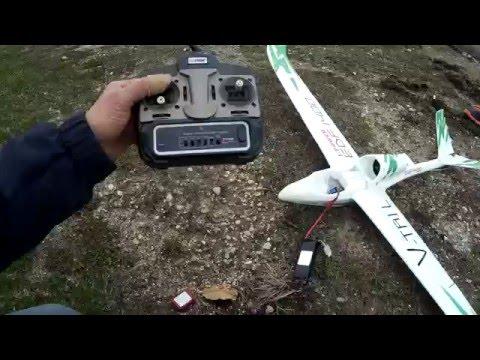 Explorer 50mm EDF Jet Glider      Crash OOp's     !!!  My Bad   !!