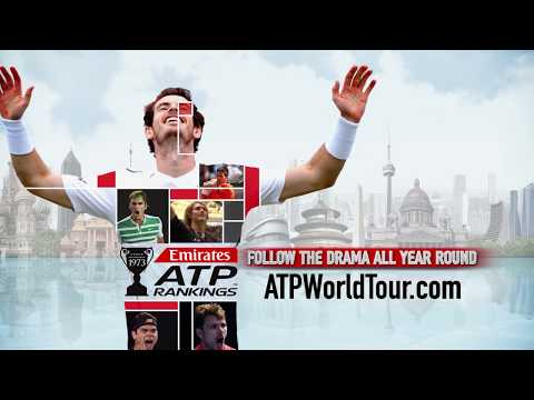 Follow Year-Round Drama With Emirates ATP Rankings