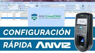 Configuracion Rápida Software CrossChex Control Acceso Anviz // SuperInventos.com screenshot 3