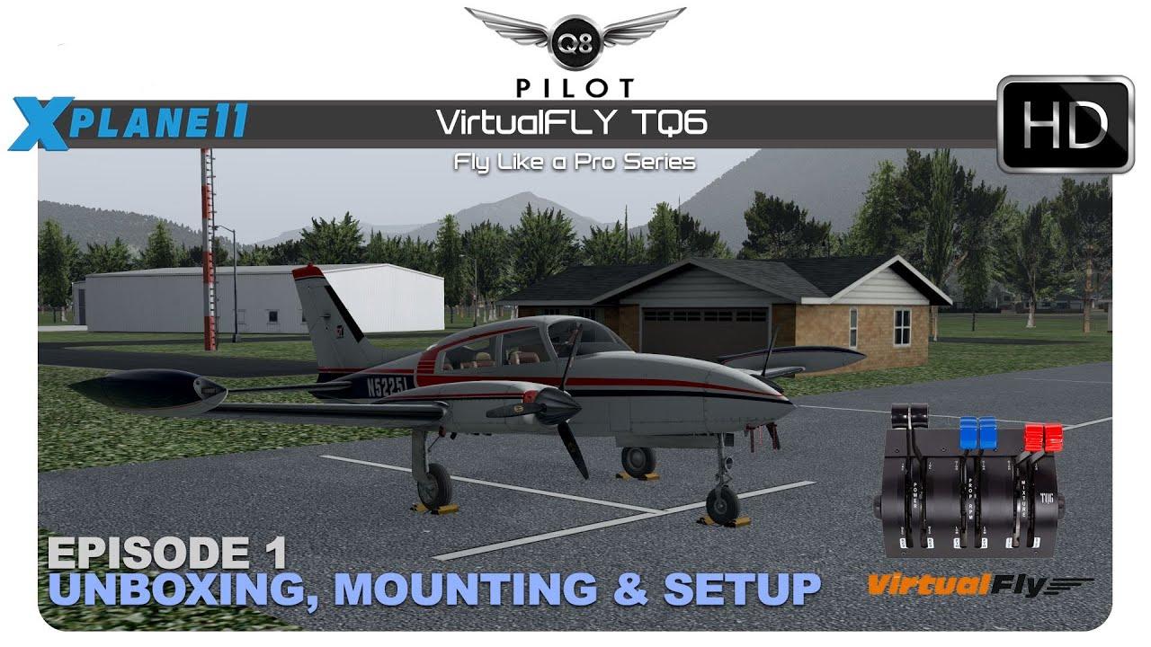 Flight Sim Throttle Quadrant – TQ6 PLUS