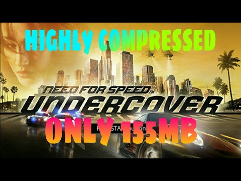 [158MB] Download Need For Speed Undercover Highly Compressed For PPSSPP On Android