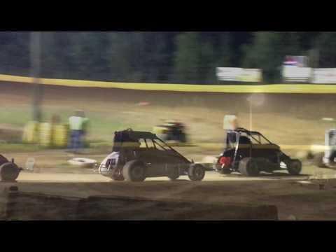 Paul Richards Hamlin Speedway Rookie 600 8-12-17