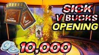 ! SICK 10,000 V BUCKS! Llama Opening! Only The Best LAMAS! 3 Weeks Lama Opening! Fortnite