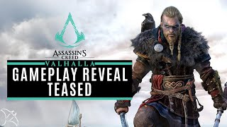 Gameplay Reveal Teased (Ubisoft Forward) | Assassin's Creed Valhalla