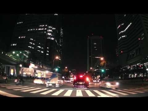 (HD) Night drive in Yokohama -夜の横浜みなとみらい周辺ドライブ-