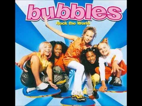 Bubbles - Happy girl